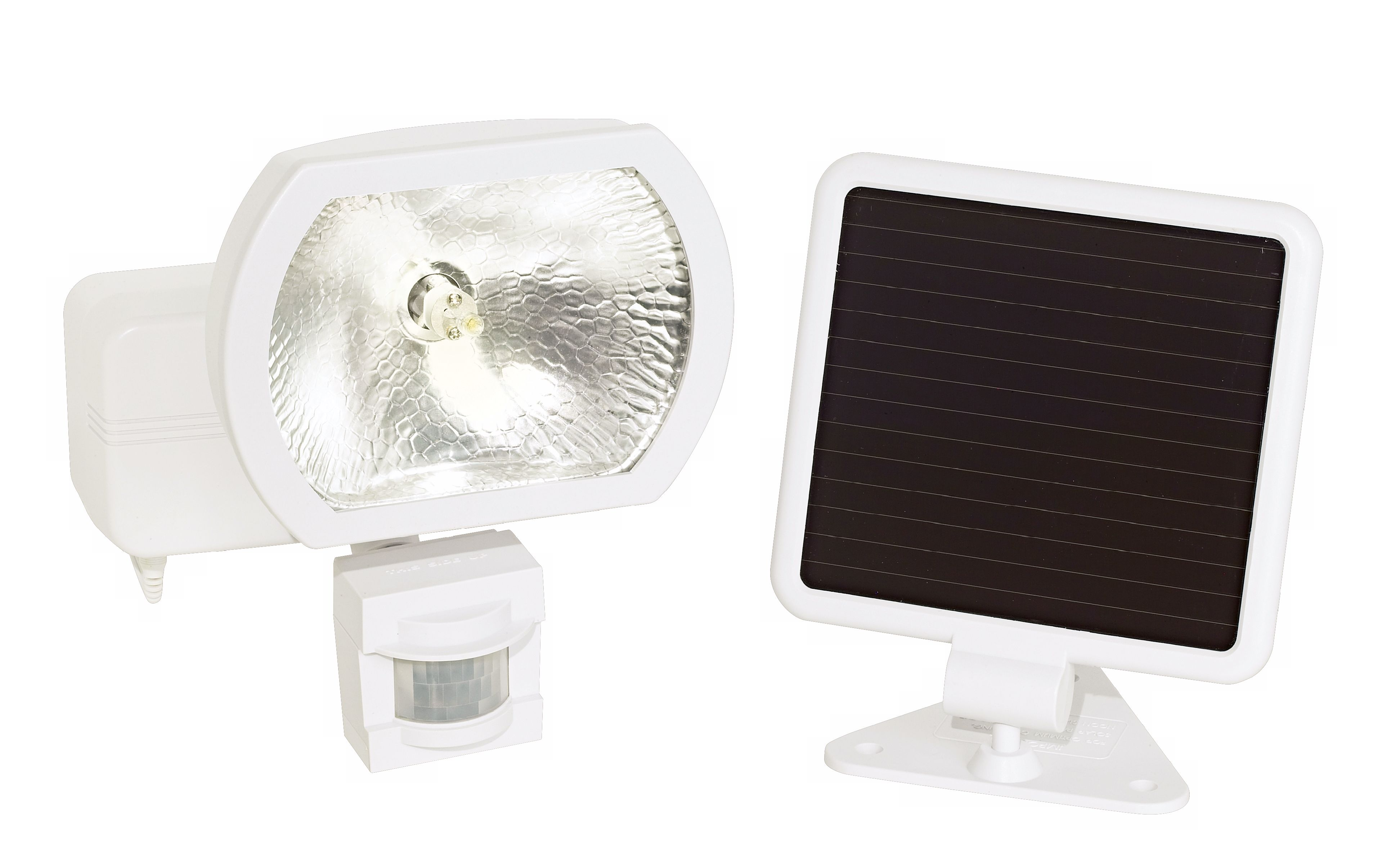 Solar Power Security Motion Detector Outdoor Light