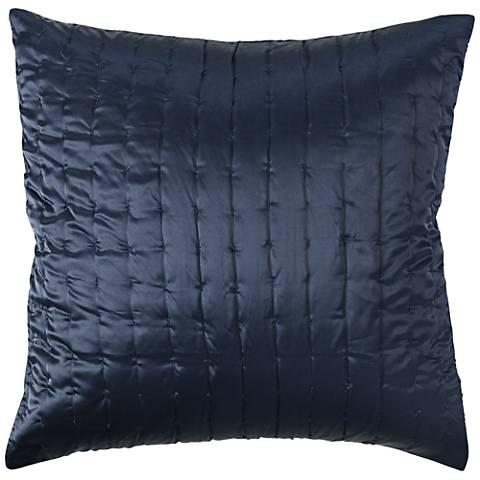 Aura Indigo Fabric Pillow Sham