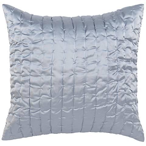 Aura Storm Gray Fabric Pillow Sham