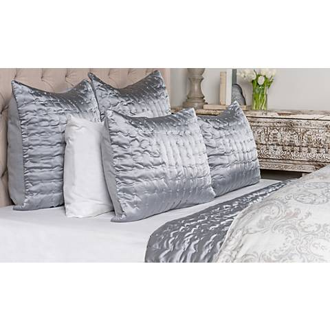 Aura Storm Gray Fabric Quilt