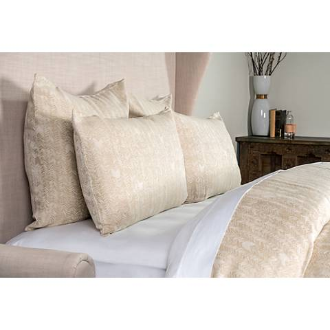 FH Natural and Ivory Fabric Duvet