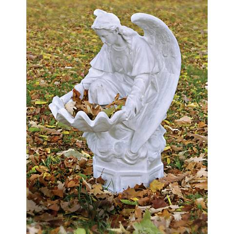 "Fegana Angel 32"" High Weather Outdoor Fountain"