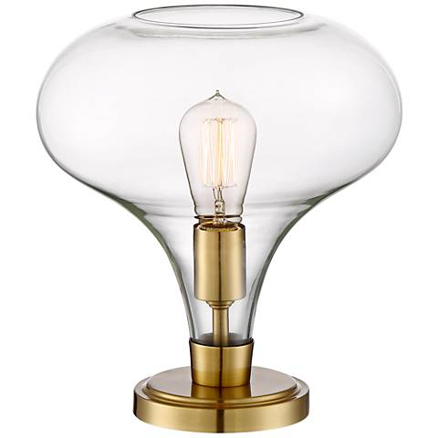"Possini Euro Becca 12 1/4"" High Glass Accent Table Lamp"