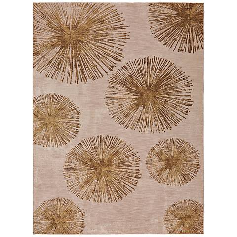 Cosmopolitan 90964 Haight Brushed Gold Area Rug