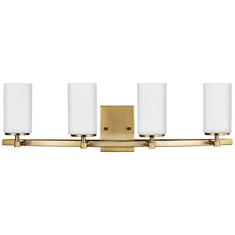 "Alturas 30 1/2"" Wide Satin Bronze 4-Light Bath Light"