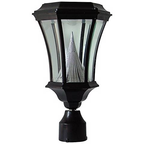 "Elger 15"" HIgh Solar Powered LED Post Light"