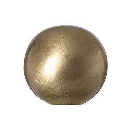 Antique Brass Ball Lamp Shade Finial