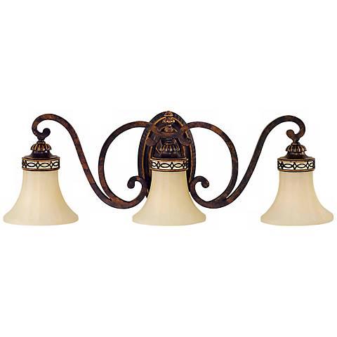 "Edwardian Bathroom Ceiling Lights feiss edwardian collection 27"" wide bathroom light fixture"