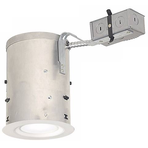 "5"" IC Rated Remodel 11 Watt LED Complete Recessed Kit"