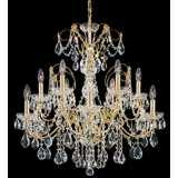 "Schonbek Century Collection 30"" Wide Crystal Chandelier"