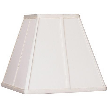 Ivory Classic Square Shade 5x10x9 (Spider)