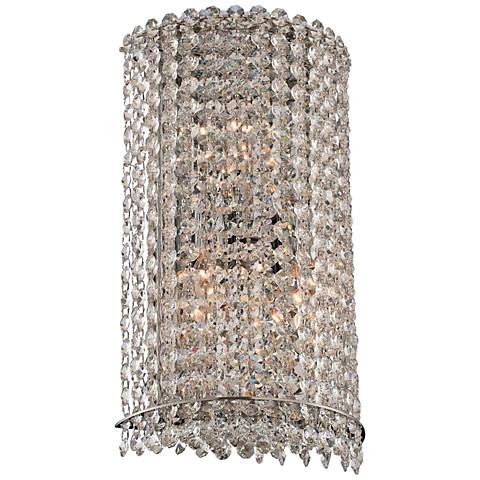 "Allegri Torre 14"" High Chrome Wall Sconce"