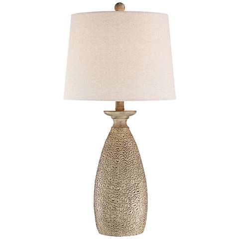 Eliza Brown Textured Table Lamp