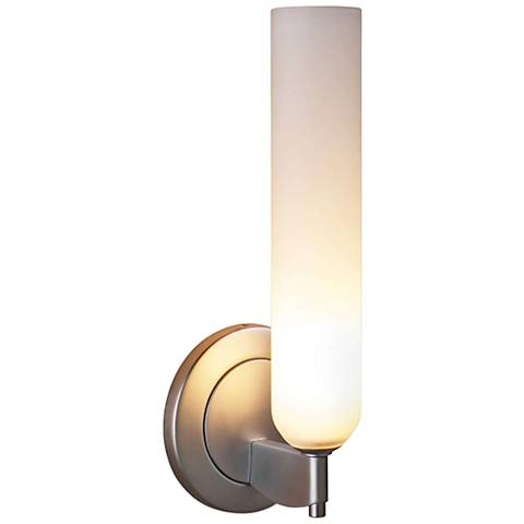"""Bruck Candle 10"""" High Matte Chrome LED Wall Sconce"""