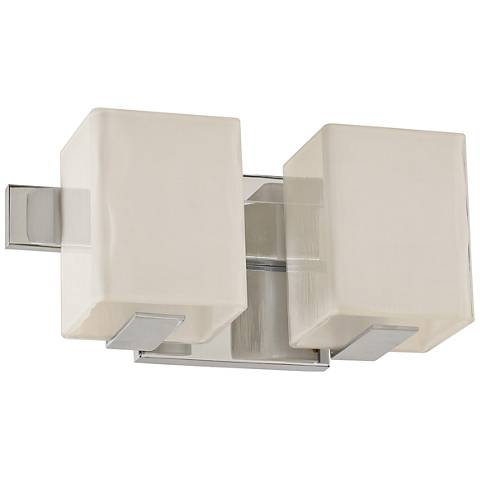 "Catalina 5"" High Satin Nickel 2-LED Wall Sconce"