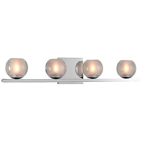 """Corona 26"""" Wide Chrome 4-LED Bath Light"""