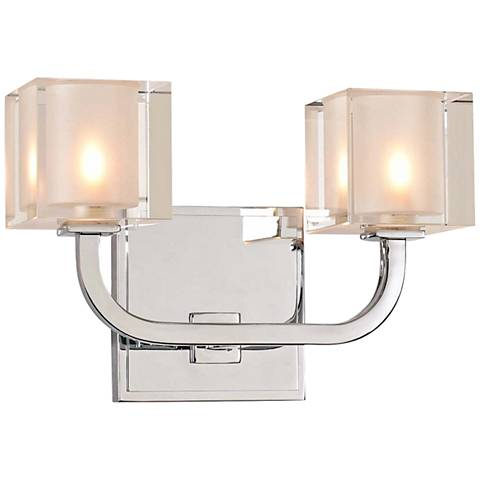 "Arcata 7"" High Chrome 2-LED Wall Sconce"