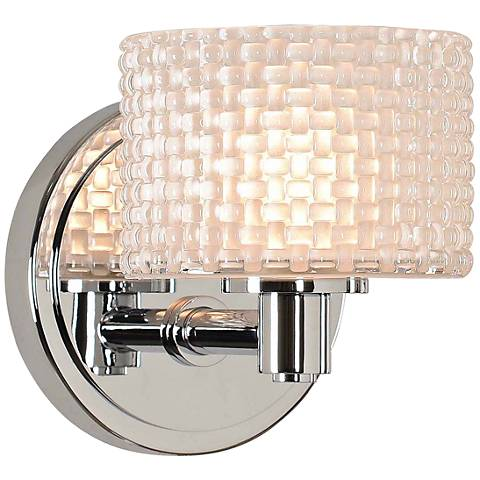 "Willow 6"" High Chrome LED Wall Sconce"