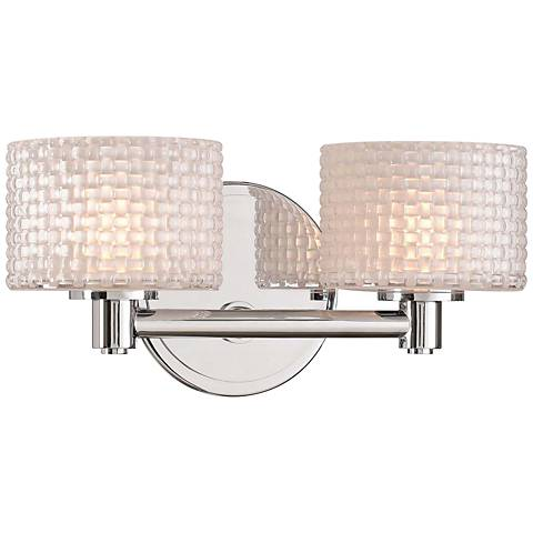 "Willow 6"" High Chrome 2-LED Wall Sconce"