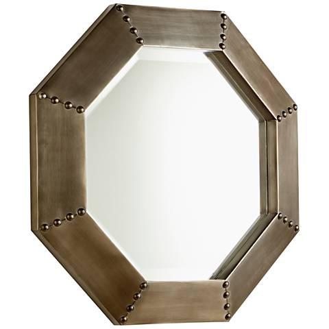 """Cyan Design Silver 19"""" x 19"""" Octagon Wall Mirror"""