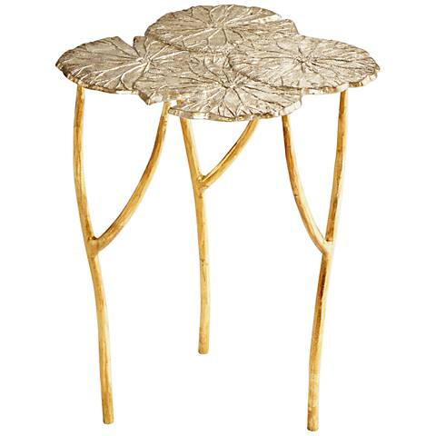 Cyan Design Ulla Silver and Gold Accent Table