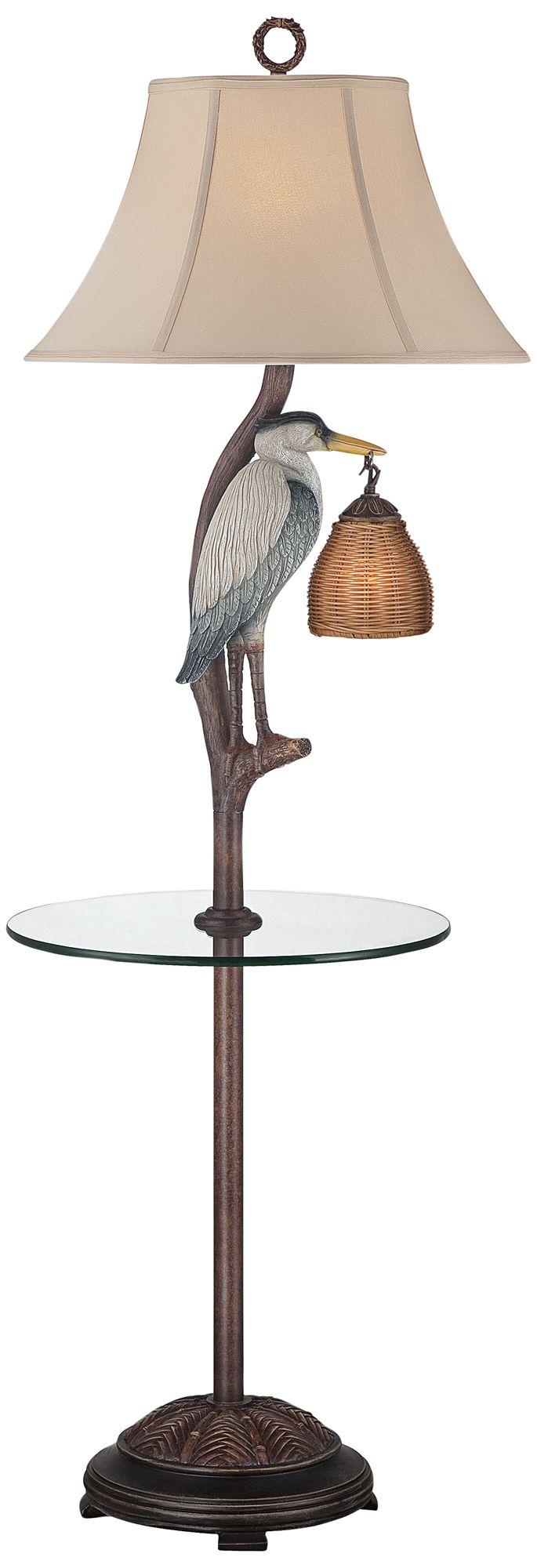 allen roth woodbine 605in brushed nickel 3way floor lamp wit
