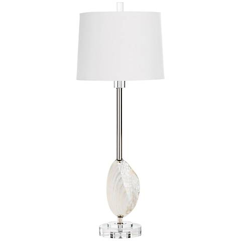 Cyan Design Pearly Iron and Crystal Table Lamp