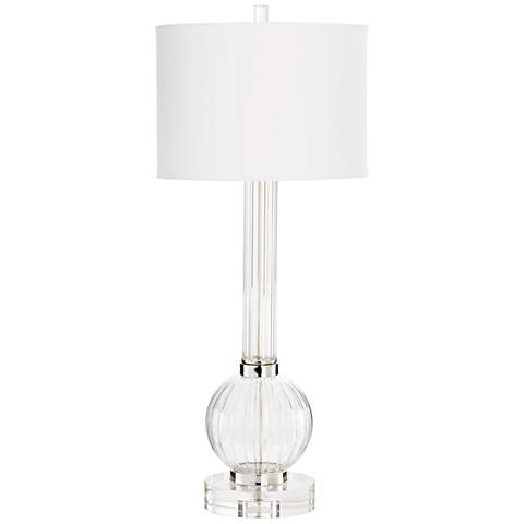 Cyan Design Ilene Clear and Cobalt Glass Table Lamp