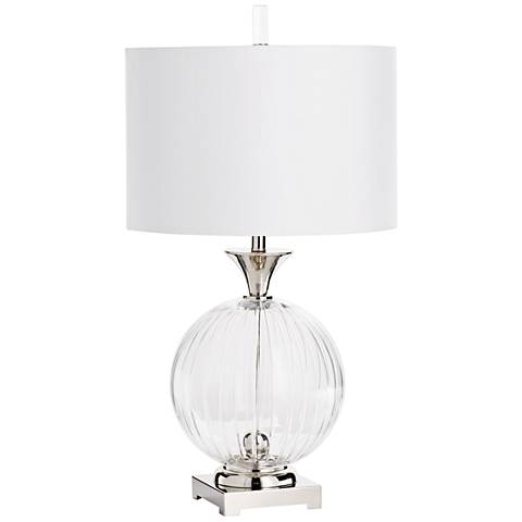 Cyan Design Darby Clear Glass Table Lamp
