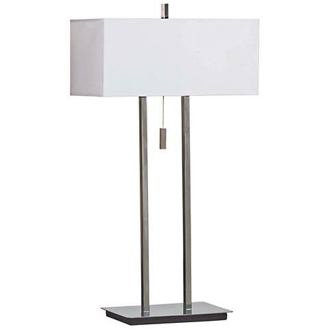 Kenroy Home Emilio Chrome Table Lamp