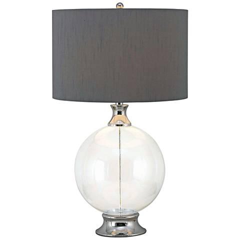 Kenroy Home Celestial Glass Table Lamp
