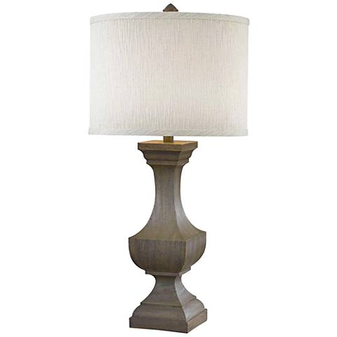 Kenroy Home Brookfield Driftwood Table Lamp