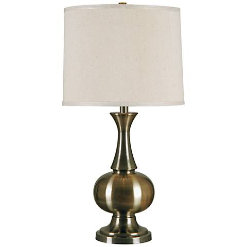 Kenroy Home Harriet Antique Brass Table Lamp