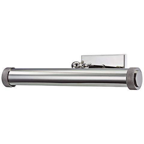 """Ridgewood 16 1/2"""" Wide Polished Nickel Picture Light"""