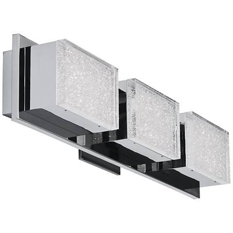 "ET2 Pizzazz LED 22 3/4"" Wide Polished Chrome LED Bath light"