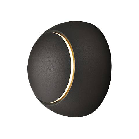 "ET2 Alumilux AL 4 3/4"" High Bronze LED Outdoor Wall Light"