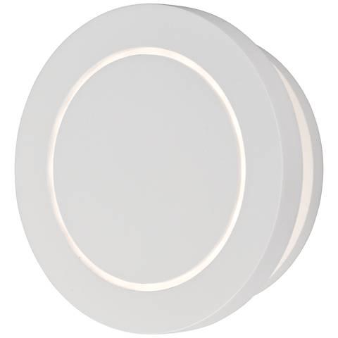 "ET2 Alumilux AL 5 1/4"" High White LED Outdoor Wall Light"