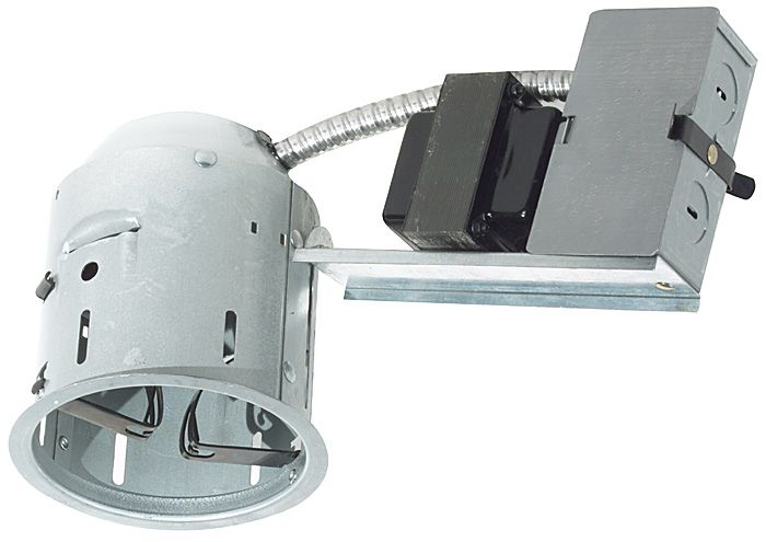 Juno 4  Low Voltage Non-IC Remodel Recessed Light Housing  sc 1 st  L&s Plus & Juno 4
