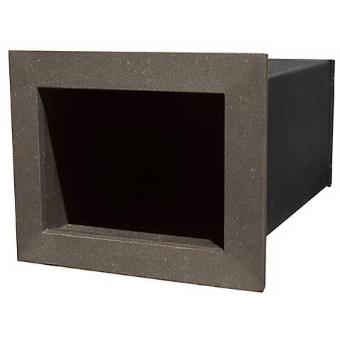 Manchester Plain Bronze Insert Newspaper Box