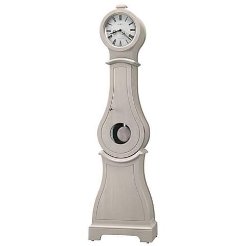 """Howard Miller Torrence Antique Gray 81 1/2"""" High Floor Clock"""