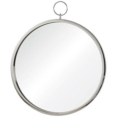 """Porto Chrome 23 1/2"""" x 30"""" Wall Mirror"""