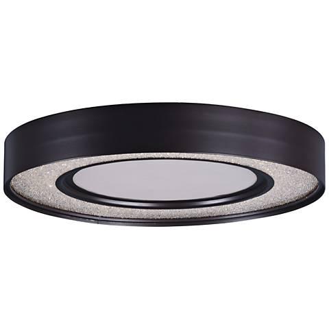 "Maxim Splendor 15 1/2"" Wide Bronze Round LED Ceiling Light"