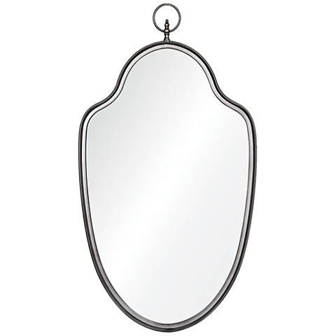 """Glasgow Matt Gray 22"""" x 39"""" Wall Mirror"""