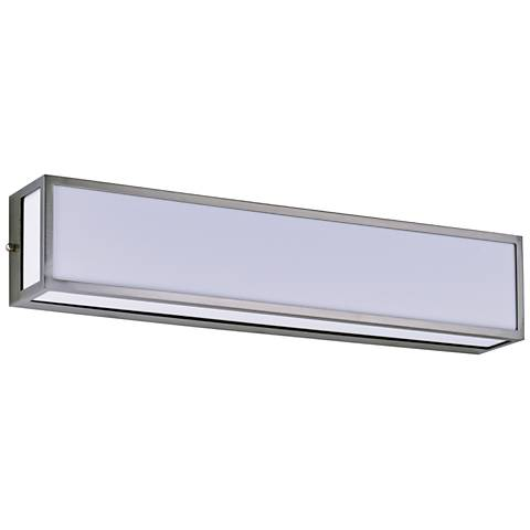 "Maxim Vanity 24 1/4"" Wide Satin Nickel LED Bath Light"