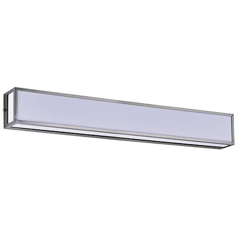 "Maxim Vanity 36"" Wide Satin Nickel LED Bath Light"