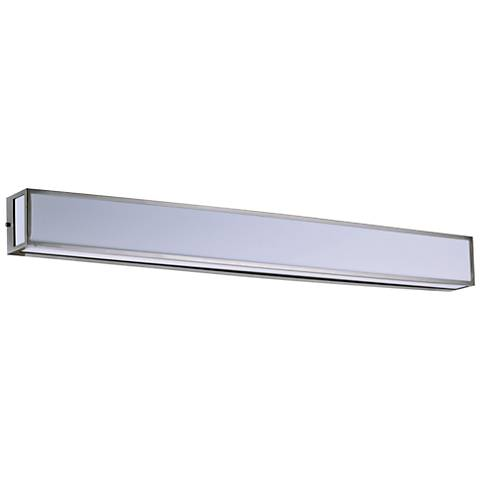 "Maxim Vanity 48 3/4"" Wide Satin Nickel Wall LED Bath Light"