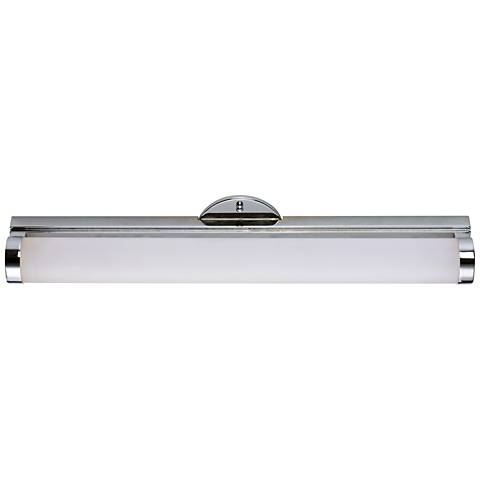 "Maxim Polar 24"" Wide Polished Chrome LED Bath Light"