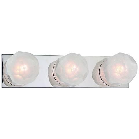 "Hudson Valley Nimbus 17 1/4"" Wide Nickel 3-LED Bath Light"
