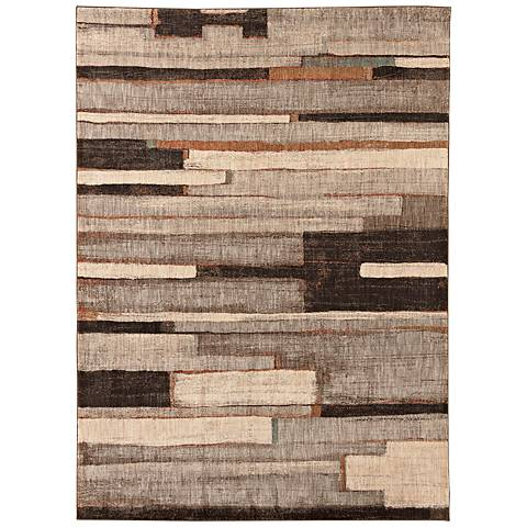 Karastan Intrigue 91209 Compose Silver Area Rug