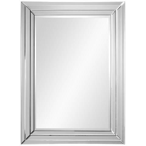 "Bryse Glass 36"" x 48"" Vertical Wall Mirror"